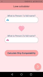 Love Calculator APK screenshot thumbnail 1
