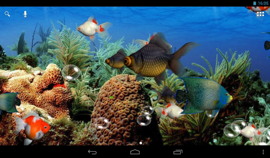 Aquarium 3d live wallpaper android apps on google play for Fish tank 3d live wallpapers