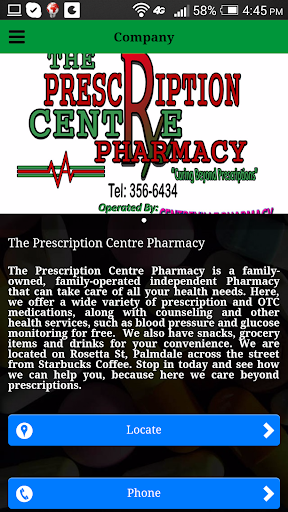 Prescription Center