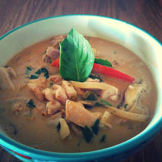 Panang Chicken Curry.