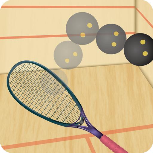 壁球 - 連續回擊 體育競技 App LOGO-APP試玩