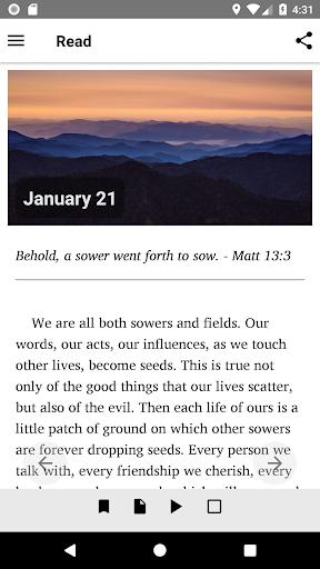 Mornings With God - Lite 4.54.0 screenshots 6