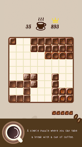 Block puzzle-Chocolate puzzle like a wood puzzle apktram screenshots 2