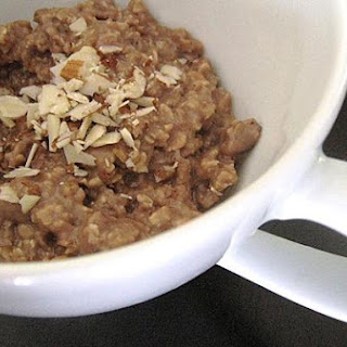 Peanut Butter And Chocolate Oatmeal