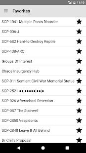 SCP Reader - náhled