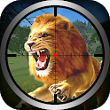 3D Sniper Shooter Wild Lion Hunting icon
