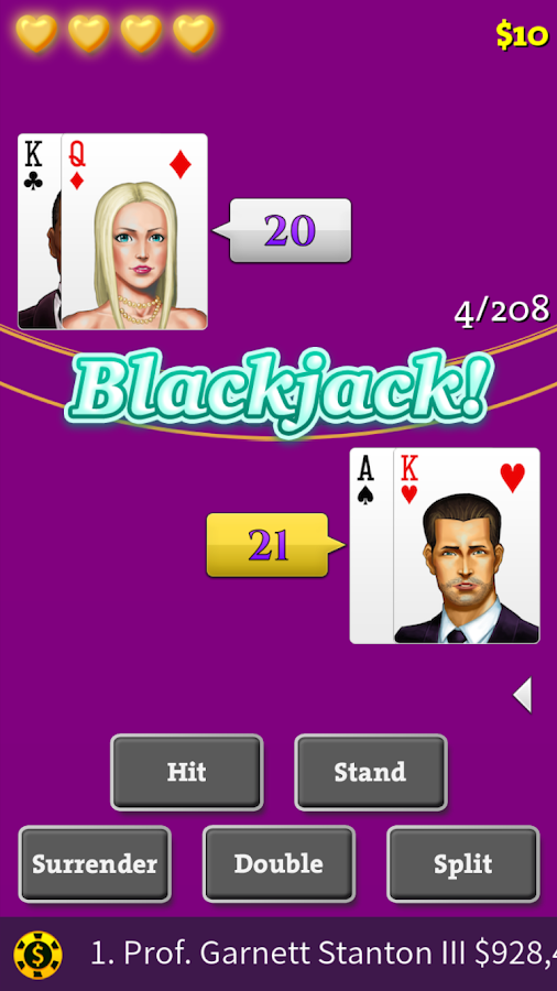 Blackjack Training Top Trainer- screenshot