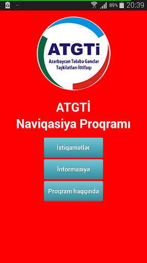 ATGTİ Naviqasiya Proqramı