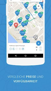 parkpocket - Die Parkplatz App Screenshot