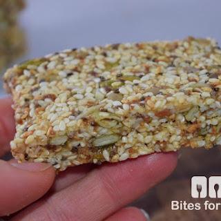 Chewy Sesame Seed Bars.