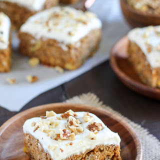 Healthier Carrot Cake (Naturally Sweetened + Whole Grain).