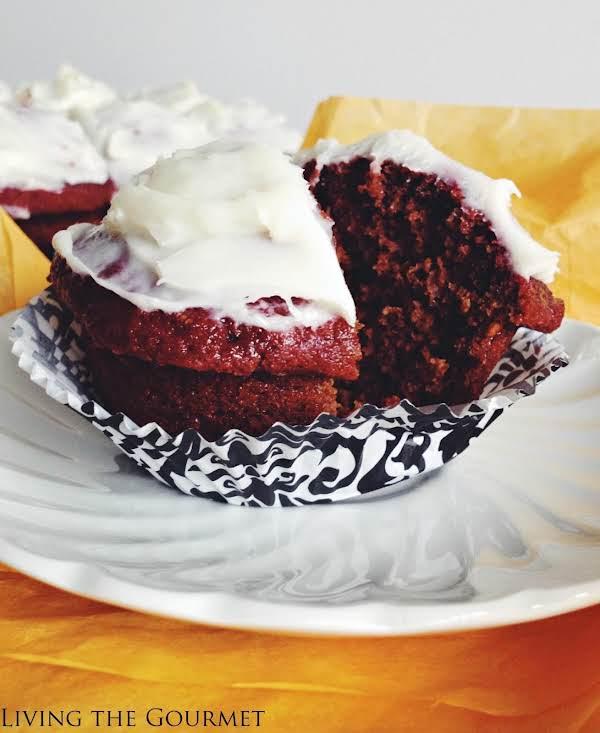Red Velvet Beet Cupcakes Recipe