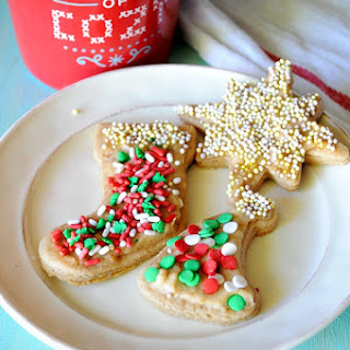 Skinny Cut Out Sugar Cookies