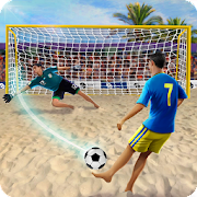 Shoot Goal - Beach Soccer Game