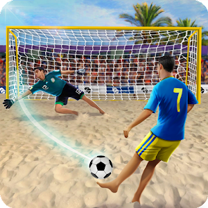 Shoot Goal ?️ Beach Soccer