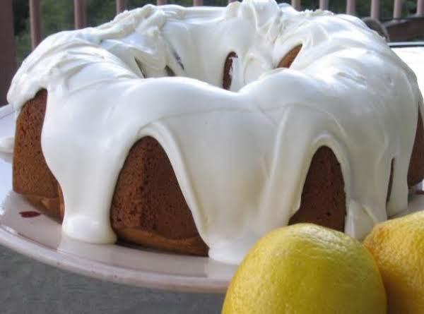 Super-moist Cake Mix Lemon Pound Cake Recipe