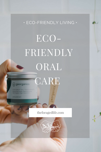 Eco-friendly & zero waste oral care with Georganics | Eco-friendly living by The Foraged Life