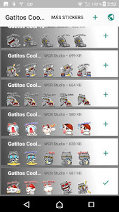 Stickers con frases Gatitos Cool - WAStickerApps - náhled
