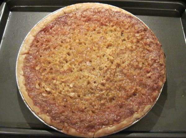 Oatmeal Pie-taste Like Pecan Pie Recipe