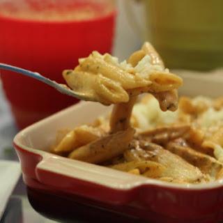 Armadillo Border Grill Chipotle Chicken Penne Pasta.