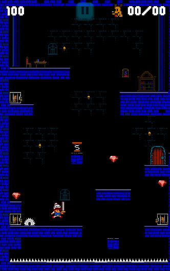Hardest Castle Run - Platform runner- screenshot