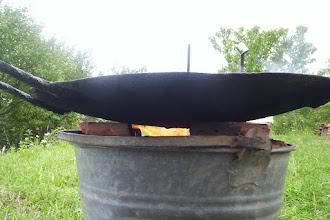 Photo: A tűz jól dolgozik