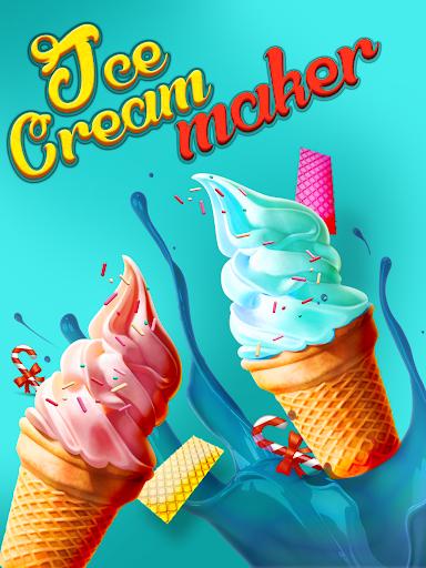アイスクリームメーカー無料キッズゲーム