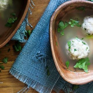 Matzah Ball and Chicken Soup