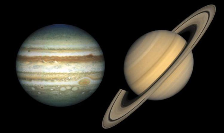 Thay vì là nước đá như Trái đất thì ở sao Mộc vào sao Thổ sẽ được thay bằng cục... kim cương.