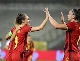 Les Red Flames cartonnent l'Albanie pour la centième de Tessa Wullaert