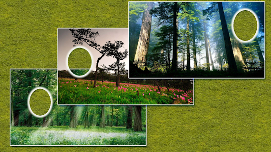 Jungle Forest Photo Frames screenshot