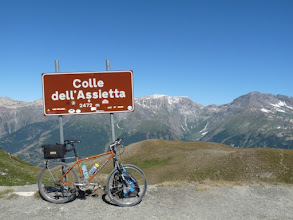 Photo: Colle dell' Assietta ( 2472m)