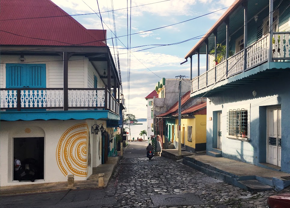 Quiet streets of Flores