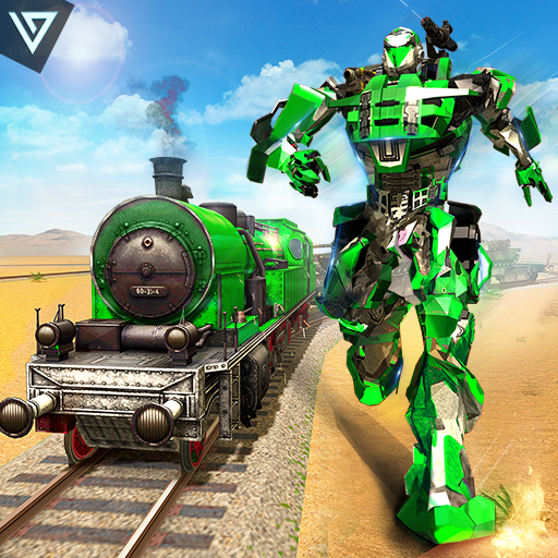 US Army Transforming Robot Train Shooter - Apps on Google Play