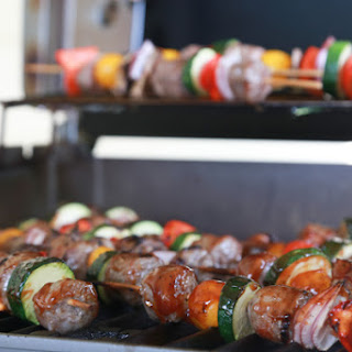 Grilled Bratwurst Kabobs