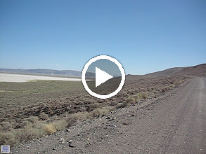 Video: Out across the Alvord desert (east side below Steens).