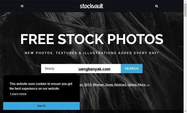 penyedia gambar gratis stock vault untuk keperluan blogging