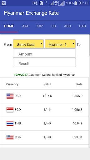 Myanmar Exchange Rate Apk