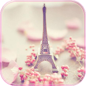 Paris Tower Theme Pink Love