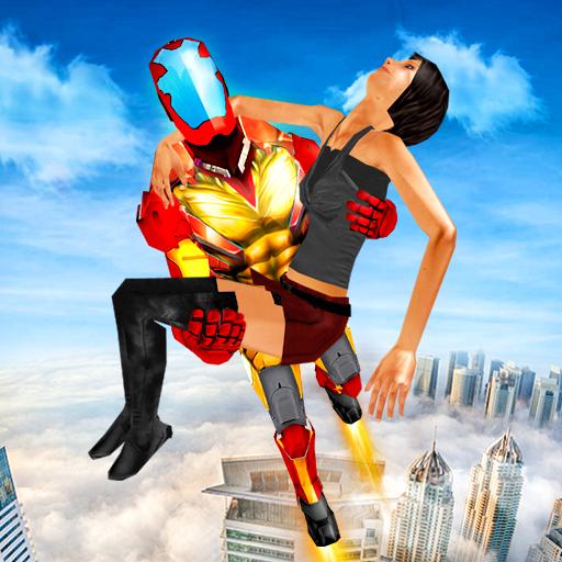 Superheroes Flying Adventure: Superhero Games