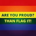 Be Proud! LGBT flag icon