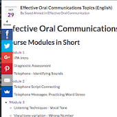 Effective Oral Communication in English