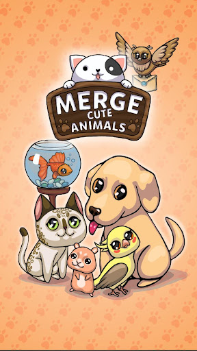 Code Triche Merge Cute Animals: Chat et Chien APK MOD screenshots 1