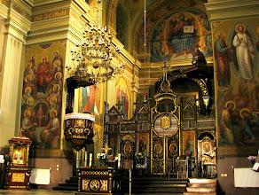 Photo: Ikonostas w Cerkwi Przenajświętszej Trójcy - dawnym kościele karmelitów. Przylegają do niej budynki klasztorne zamienione obecnie na biura.