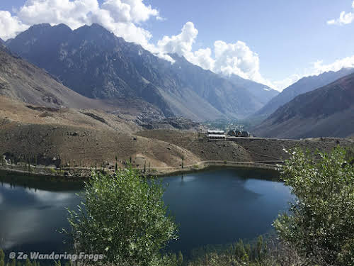 Pakistan Culture of the Kalash Valley Pakistan // Phander Lake and PTDC Hotel