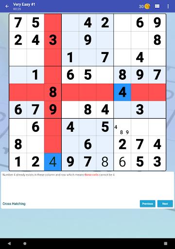Sudoku Free - Classic Brain Puzzle Game screenshot 10