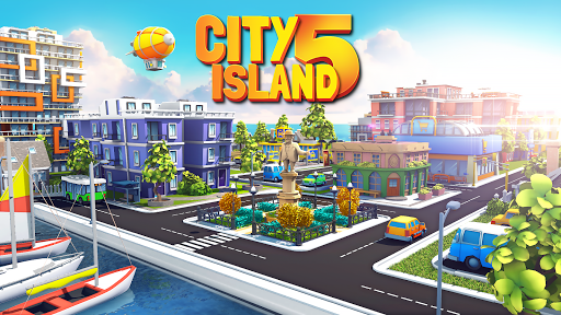 City Island 5 - Tycoon Building Simulation Offline  captures d'écran 1