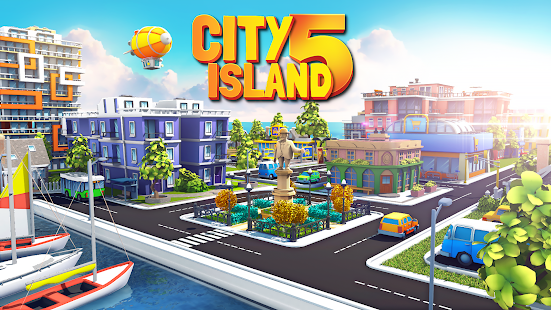 ApkMod1.Com City Island 5 + (Mod Money) for Android Game Simulation