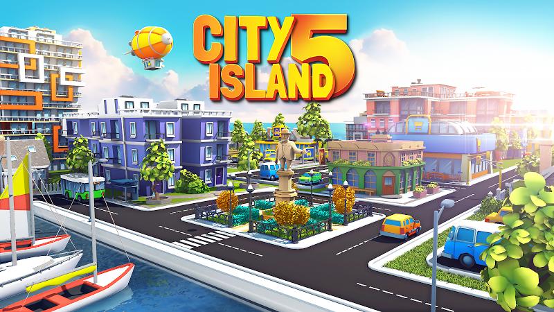 City Island 5 - Tycoon Building Simulation Offline Screenshot 0