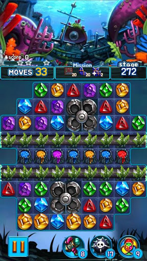 Jewel Kraken: Match3 puzzle 1.2.7 screenshots 5